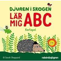 Djuren i skogen ABC-kortspel