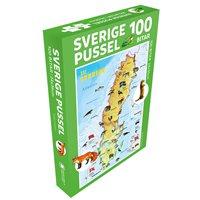 Sverige Pussel 100 bitar