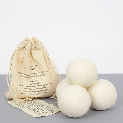 Torkbollar Ull, 4-pack