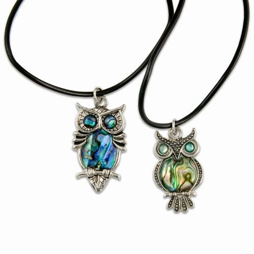 Necklace, Owl