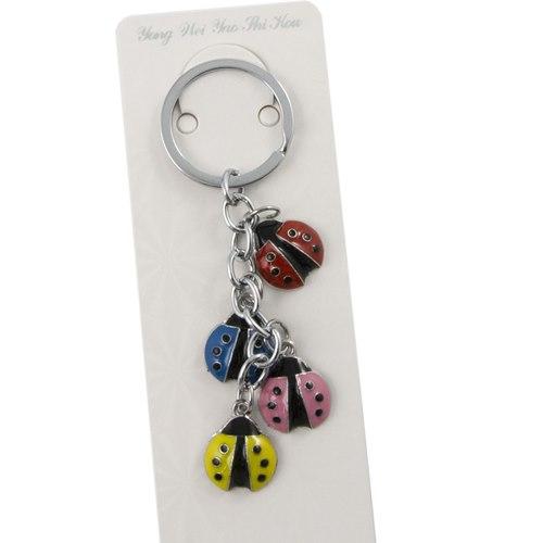 Nyckelring Nyckelpigor