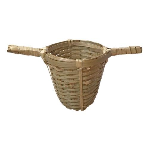 Tesil i bambu, dubbla handtag