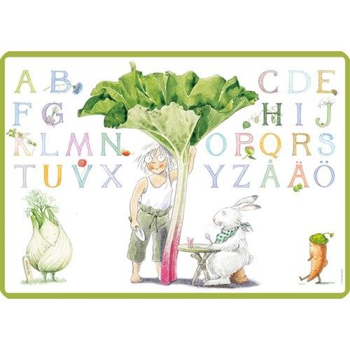 Bordstablett Majas alfabet