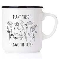 Emaljmugg Plant these - save the bees