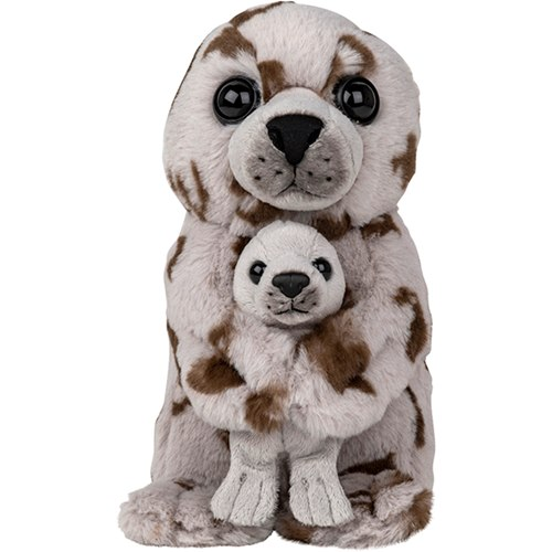 Soft toy, Harbor Seal with pup