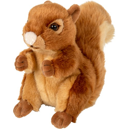 Soft toy Squirrel, PLAN