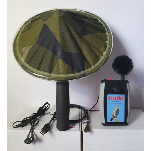 SongBird III. Hörselförstärkare ink mikrofon och parabol.