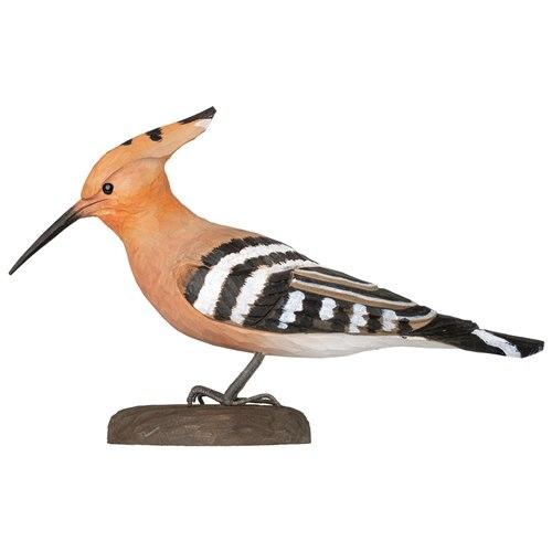Härfågel snidat trä