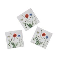 Napkin with Summer flowers