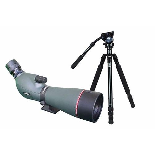 FOCUS Viewmaster 20-60x80. Paket Sirui R-2004/VH-10