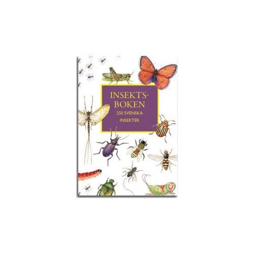 Insektsboken 250 svenska insekter
