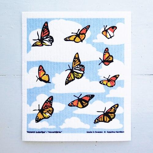 Disktrasa Monarkfjärilar