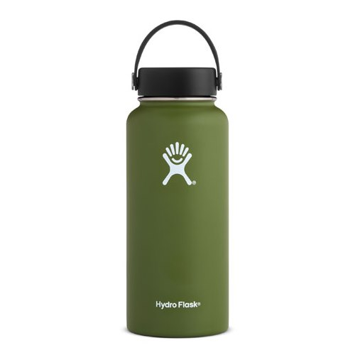 Hydro Flask, Olive Wide Mouth Flex 32 (946ml)