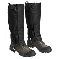 DAMASKER GAITERS Svart L-XL