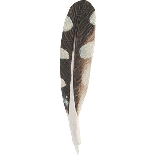 Penna snidad fjäder, Hackspett