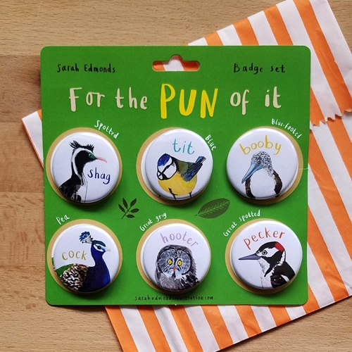 Pin For the Pun of It