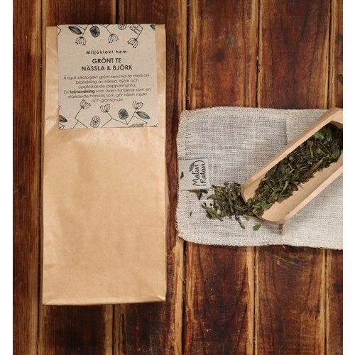 Grönt te - Nässla och björk