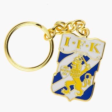 Nyckelring Emblem Guld