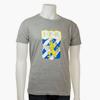 T-Shirt Emblem Grå