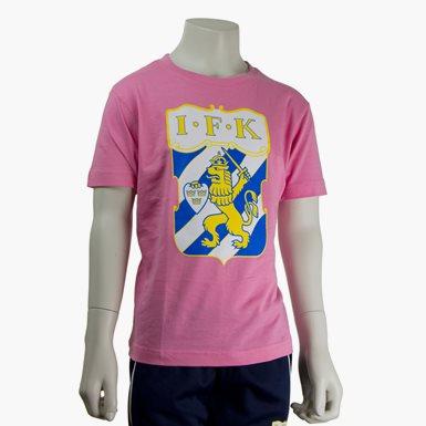 T-Shirt Emblem Rosa Jr