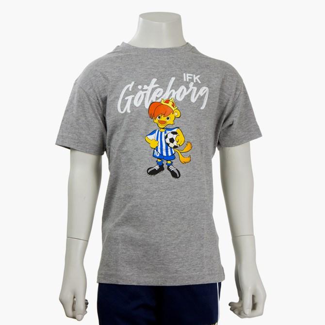 T-Shirt Leo Grå