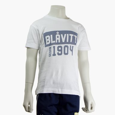 T-Shirt Blåvitt 1904 Jr