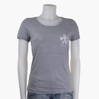 T-Shirt Lejon Dam Grå