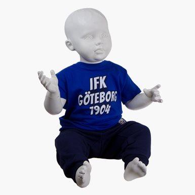 T-Shirt 1904 Baby Blå