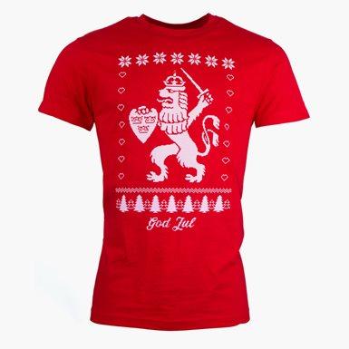 T-Shirt Jul Röd
