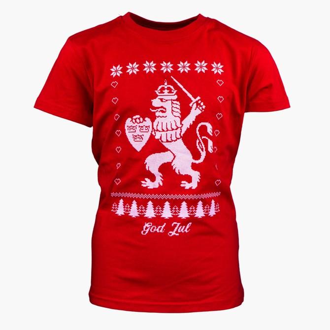 T-Shirt Jul Röd Jr