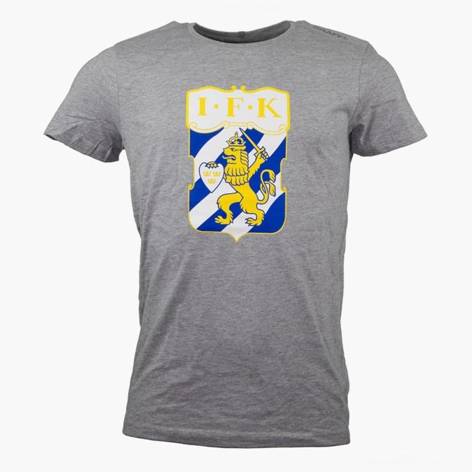 Craft T-Shirt Klubbmärke Grå