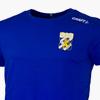 Craft T-Shirt Litet Klubbmärke Blå