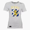 Craft T-Shirt Klubbmärke Vit Dam