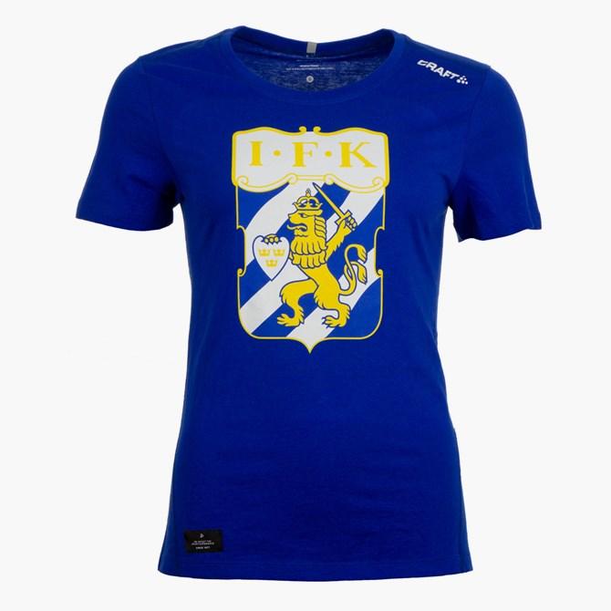Craft T-Shirt Klubbmärke Blå Dam