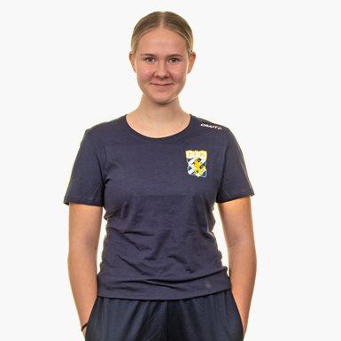 Craft T-Shirt Litet Klubbmärke Marin Dam
