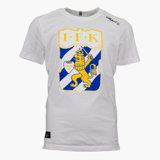 Craft T-Shirt Klubbmärke Vit Jr
