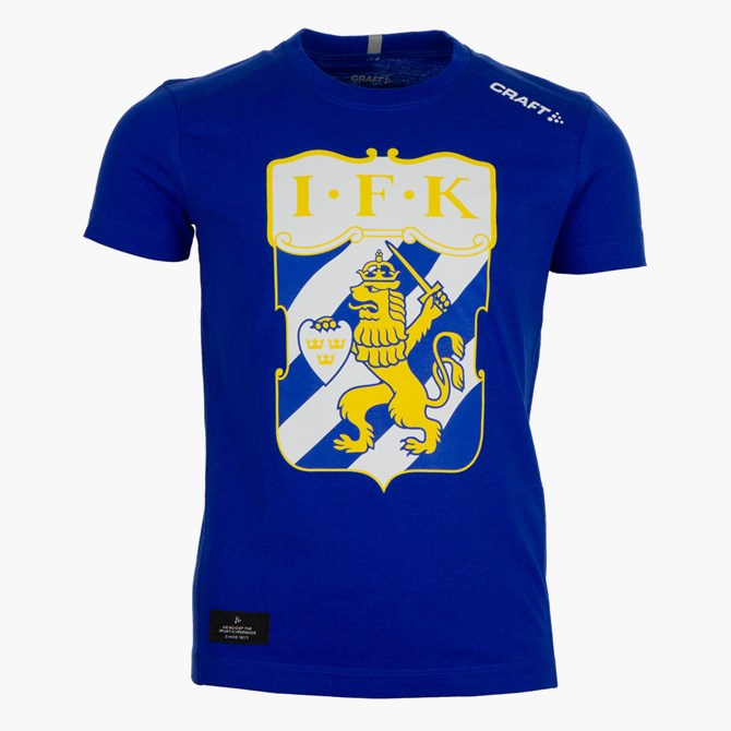 Craft T-Shirt Klubbmärke Blå Jr