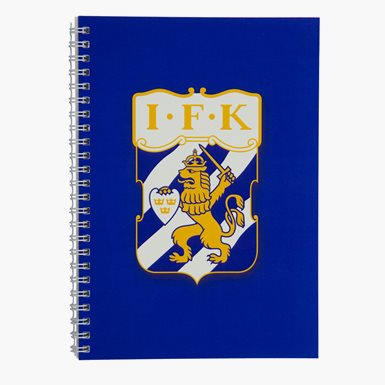 Skrivbok Blå Emblem