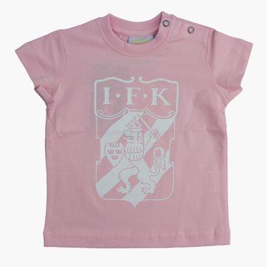 Baby T-Shirt Klubbmärke Rosa