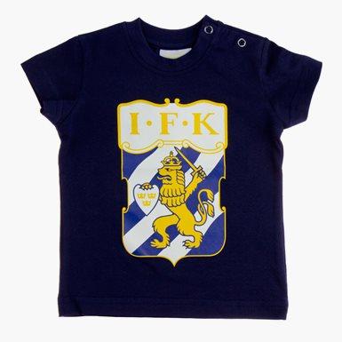Baby T-Shirt Klubbmärke Marin