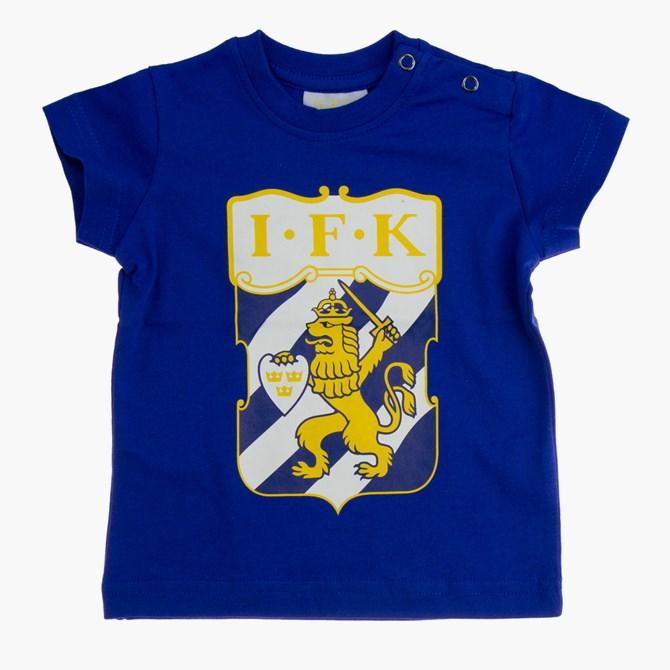 Baby T-Shirt Klubbmärke Blå