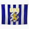 Flagga Klubbmärke Med Öljetter 120X90
