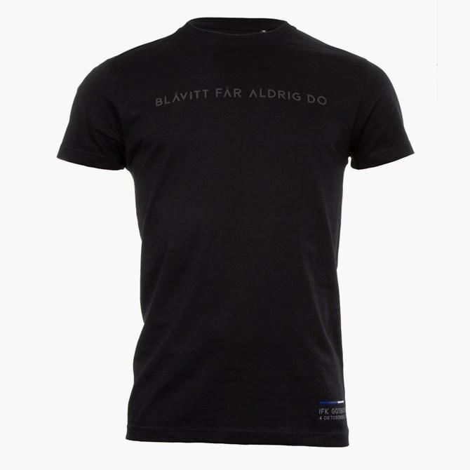 T-Shirt Blåvitt Får Aldrig Dö