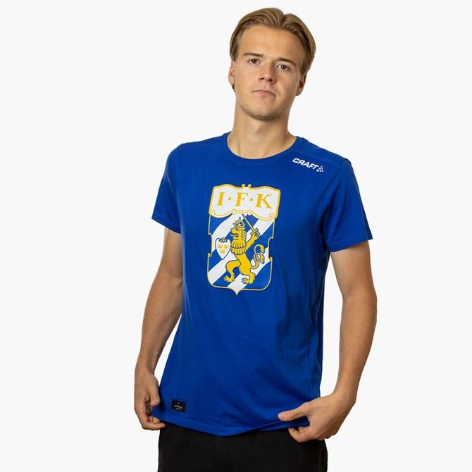 Craft T-Shirt Klubbmärke Blå