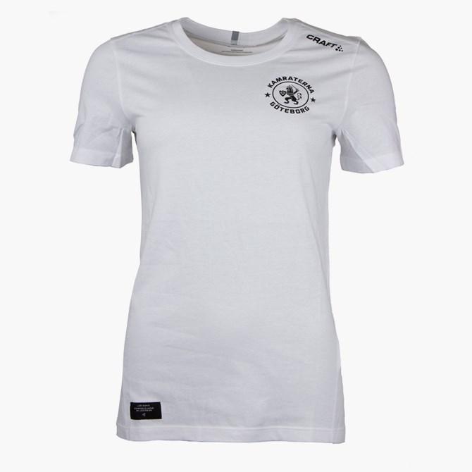 Craft T-Shirt Kamraterna Vit Dam