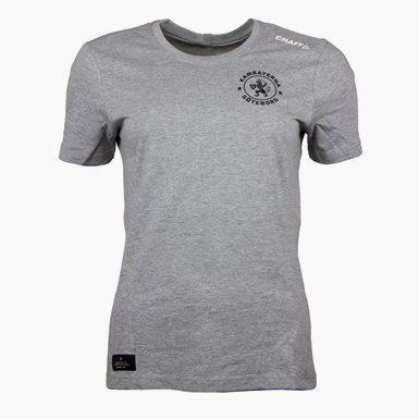 Craft T-Shirt Kamraterna Grå Dam