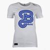 Craft T-Shirt Blåvitt Vit Dam
