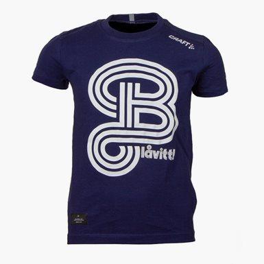 Craft T-Shirt Blåvitt Marin Jr