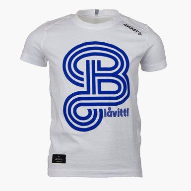 Craft T-Shirt Blåvitt Vit Jr