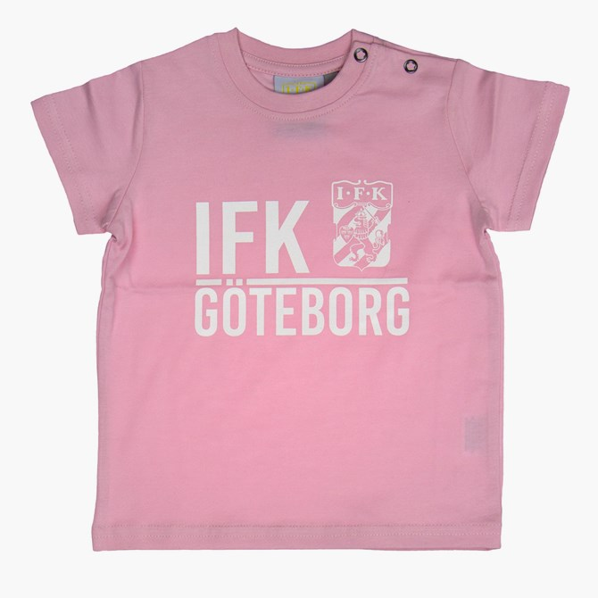 Baby T-Shirt Ifk Göteborg Rosa